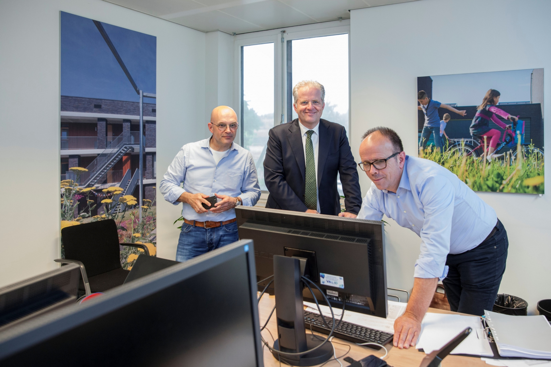 Guido Kerckhoffs, Hub Meulenberg en Marcel Salobir.jpg