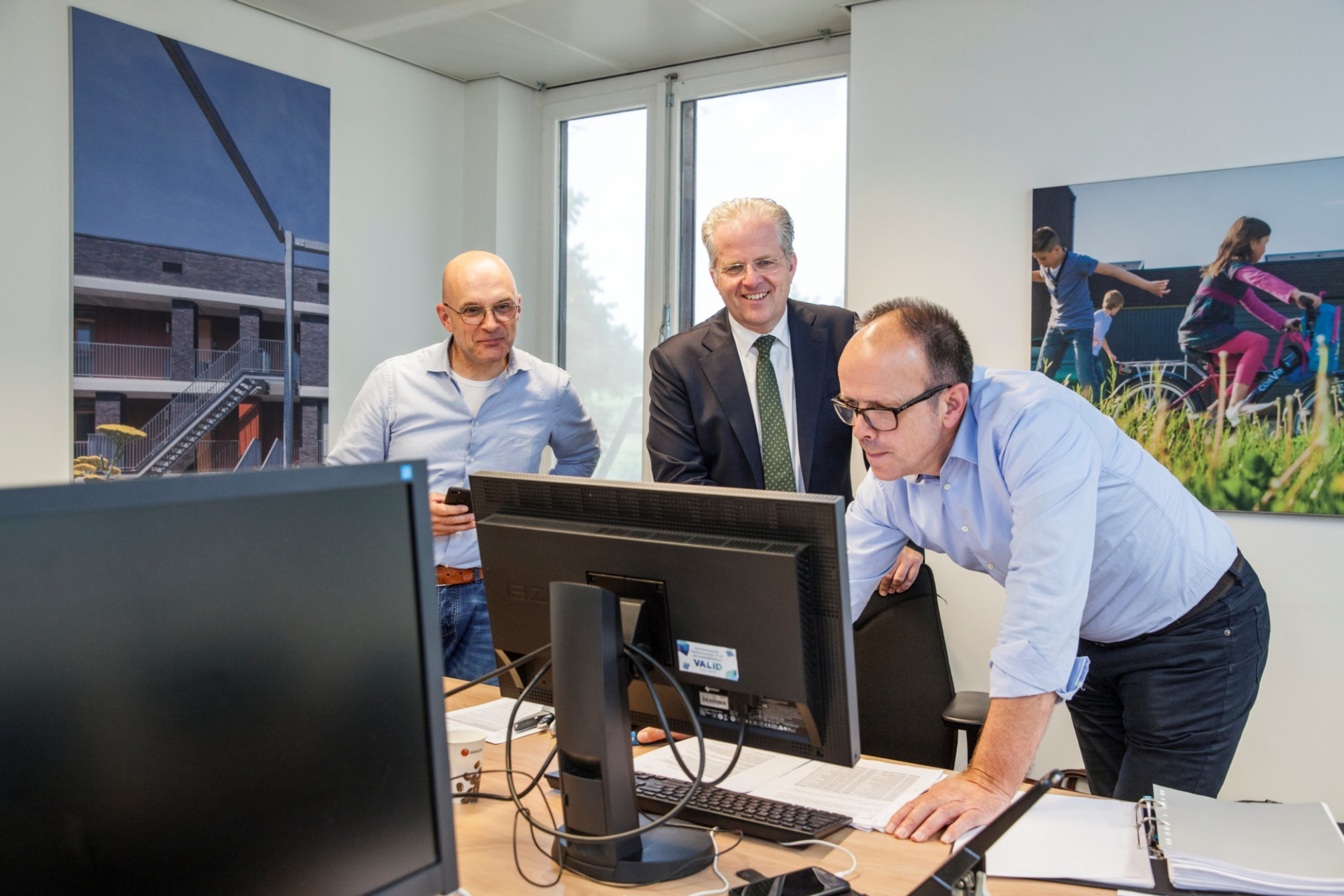 Guido Kerckhoffs, Hub Meulenberg en Marcel Salobir 2.jpg